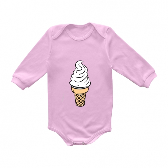 """Боди с длинным рукавом """"Мороженка"""""""