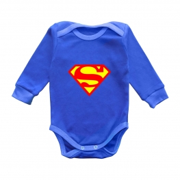 """Боди с длинным рукавом """"Супермен"""""""