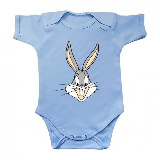 """Боди с коротким рукавом """"Весёлый кролик"""""""