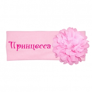 """Повязка с цветочком """"Принцесса"""""""