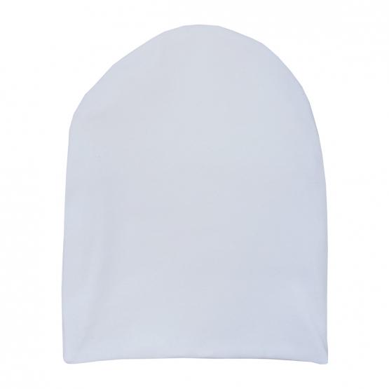 Удлинённая шапочка со своей надписью