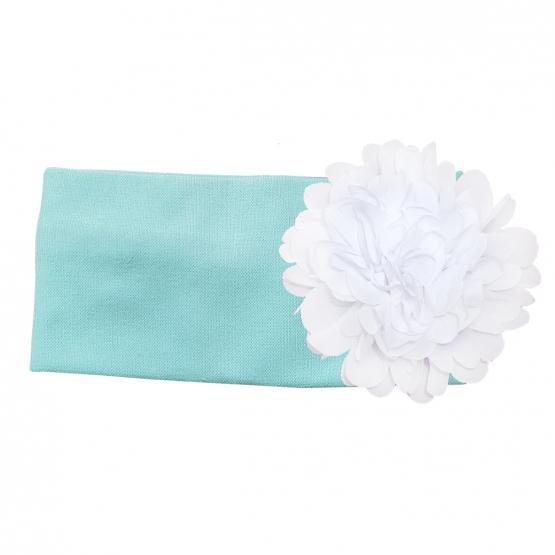 Повязка с цветочком со своей надписью