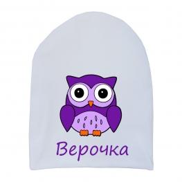 """Шапочка удлинённая """"Совёнок"""""""