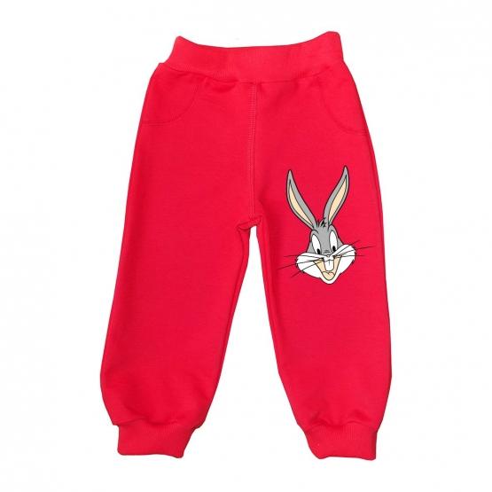 """Штанишки """"Весёлый кролик"""" с любым именем"""